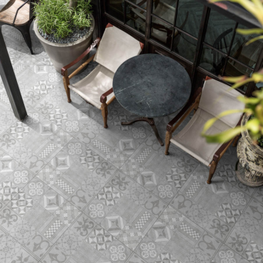 GeoCeramica® 60x60x4 Mosaik Grey