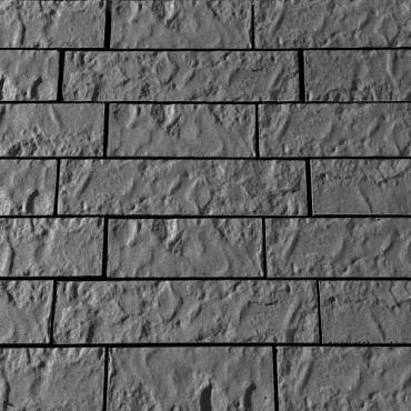 Balaton walling Etna gen. met structuur hoog 13cm, diep 12cm, lang 31.5/ 41.5 / 51.5 cm