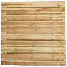 Actie Tuinscherm Recht 21 planks (19+2/ Privacy) verloop 180>90x180cm