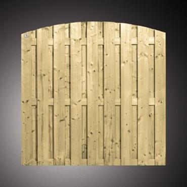 704 Actie Tuinscherm Toog 180x180 GW 17 planks Levertijd iov na bestelling