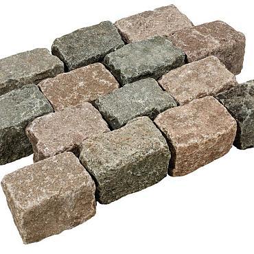Gebruikte kinderkop zweeds graniet ca 14x28