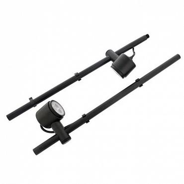 Duo Mini Scope Led black 2W 12v