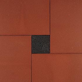 Betontegel rood 40x60x5cm
