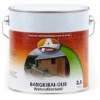 Bangkirai olie naturel 2500 ml Olie Basis