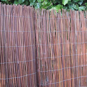 Black Fern Fence 100x300 cm