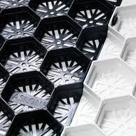 Grindplaten / Splitplaten  59.2x79x3 cm lxbxh zwart 1m2=2.14 platen