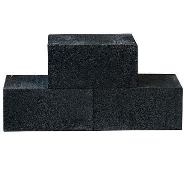 Splitblok XL Halve zwart / antraciet 30x15x15 cm