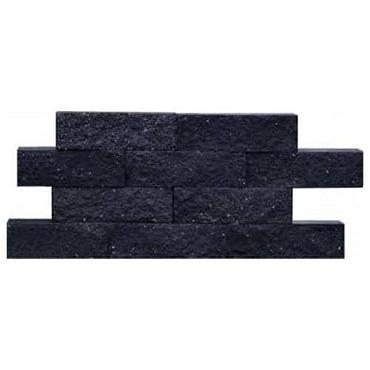 Wall Block zwart strak 32.5x12x10 cm