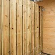 Actie Tuinscherm Recht 21 planks (19+2/ Privacy) 180x130 cm
