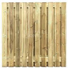 Actie Tuinscherm Recht 21 planks (19+2/ Privacy) 180x150 cm