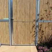 BambooWall deur met cilinderslot B100 x H200cm  (scharnieren l of r)