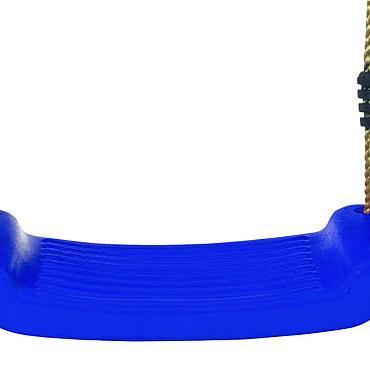 Schommelzit kunststof, blauw.