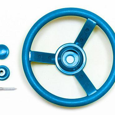 Stuurwiel kunststof, blauw.