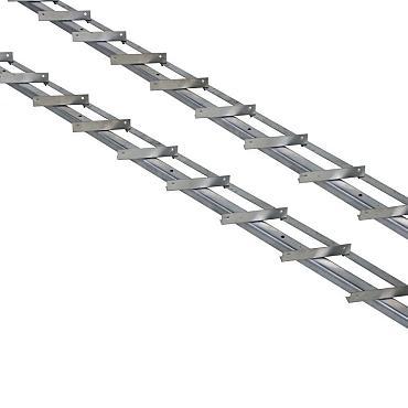 DHZ shutter framewerk, 2 stuks 165 cm t.b.v. 14 planken.