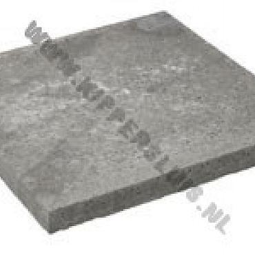 Oudhollandse Tegel  antraciet 80x80x5 cm