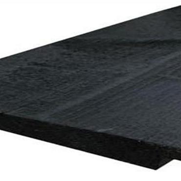 Zweeds rabat / ysselrabat noord europees 2,5x20x360cm 2x Zwart Gespoten