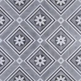 GeoCeramica® 60x60x4 Concreet Flower dec
