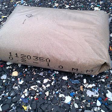 Kwartszand rondgebrand inveegzand voor kunstgras 25kg- circa 7kg nodig per m2