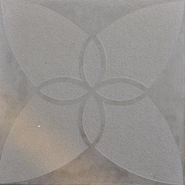 Grigio Argento 60x60x4 cm Flor en Flor