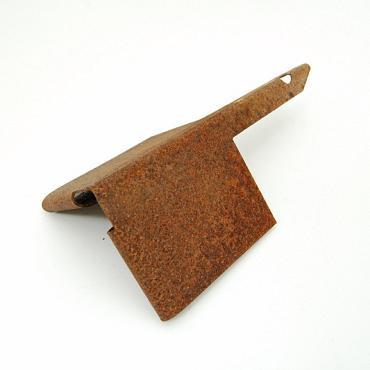 Hoekstuk Cortenstaal 3mm dik 90° geschikt voor Corten randen 10 cm hoog