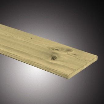 Actie Tuinplank Grenen 1.6x14x360 cm