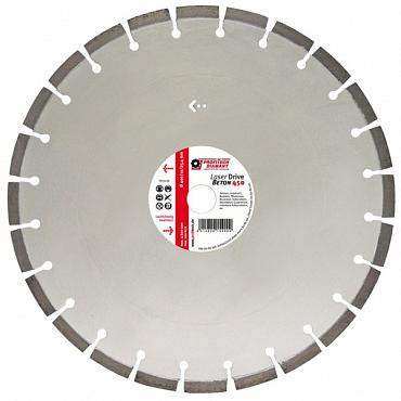 Laser Drive Beton zaagblad 350mm Segmenthoogte 10mm Asgat 20mm